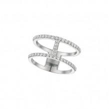 Jewelmi Custom 14k White Gold Diamond Ring