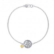 Tacori Sterling Silver Love Letters Diamond Women's Bracelet - SB196DSB
