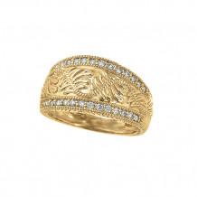 Jewelmi Custom 14k Yellow Gold Diamond Ring
