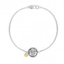 Tacori Sterling Silver Love Letters Diamond Women's Bracelet - SB196Y