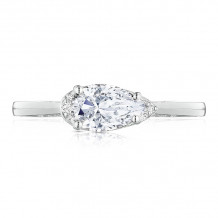 Tacori Platinum Simply Tacori Solitaire Diamond Engagement Ring - 2654PS8X5