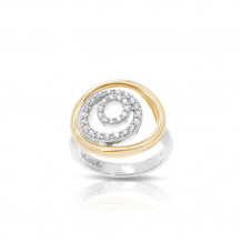 Belle Etoile Concentra Two Tone Ring