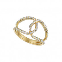 Jewelmi Custom 14k Yellow Gold Diamond Ring