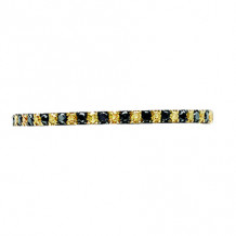 Hidalgo 18K Gold and 0.13ct Diamond Micro Band HDR10BY