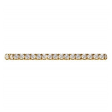Hidalgo 18K Gold and 0.11ct Diamond Micro Band HDR10YW