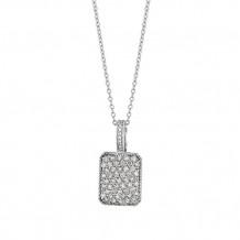 Jewelmi Custom 14k White Gold Diamond Necklace