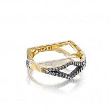 Tacori Sterling Silver & 18k Yellow GoldThe Ivy Lane Diamond Men's Ring - SR205YBR