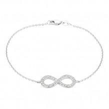 Jewelmi Custom 14k White Gold Diamond Bracelet