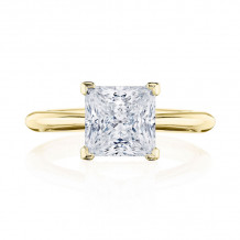 Tacori 18k Yellow Gold RoyalT Solitaire Diamond Engagement Ring - HT2671PR75Y