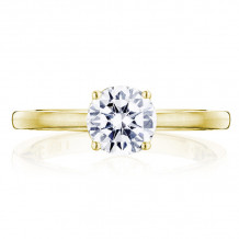 Tacori 14k Yellow Gold Coastal Crescent Solitaire Diamond Engagement Ring - P100RD65FY