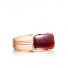 Tacori 18k Rose Gold Legend Gemstone Men's Ring - MR102P41