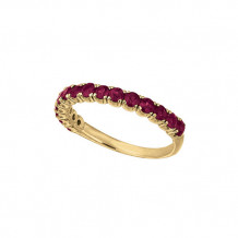 Jewelmi Custom 14k Yellow Gold Ruby Ring