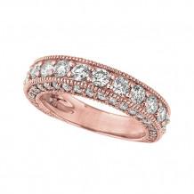 Jewelmi Custom 14k Rose Gold Diamond Ring