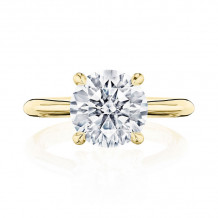 Tacori 18k Yellow Gold RoyalT Solitaire Diamond Engagement Ring - HT2671RD95Y