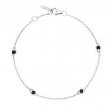 Tacori Sterling Silver Petite Gemstones Women's Bracelet - SB23219