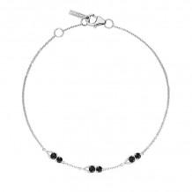 Tacori Sterling Silver Petite Gemstones Women's Bracelet - SB23119