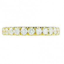 Hidalgo 18K Gold and 0.81ct Diamond Micro Band HDR574