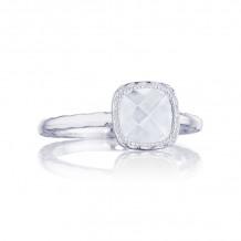 Tacori Sterling Silver Crescent Embrace Gemstone Men's Ring - SR23503