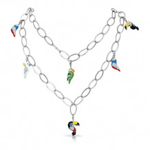 Belle Etoile Aviary Multi Necklace