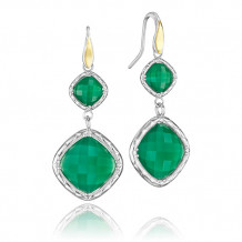 Tacori Sterling Silver Crescent Embrace Gemstone Drop Earring - SE118Y27