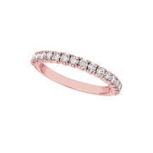 Jewelmi Custom 14k Rose Gold Diamond Stackables Ring