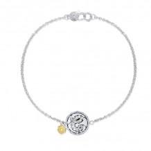 Tacori Sterling Silver Love Letters Diamond Women's Bracelet - SB196ESB