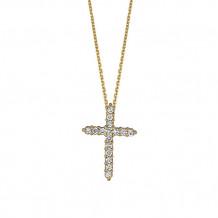 Jewelmi Custom 14k Yellow Gold Diamond Necklace