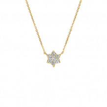 Jewelmi Custom 14k Yellow Gold Diamond Necklace